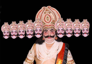 An_Ramlila_Actor_In_The_Role_of_Ravana