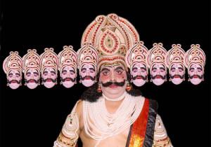 An_Ramlila_Actor_In_The_Role_of_Ravana
