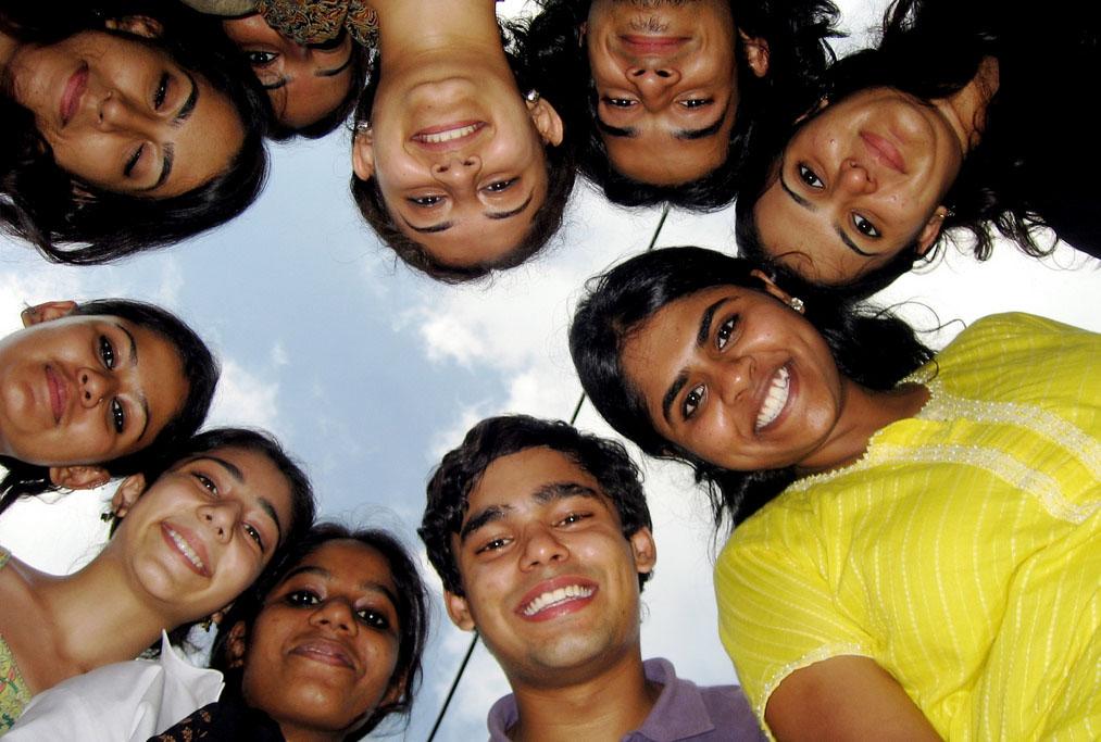 indian-common-people-boy-girl
