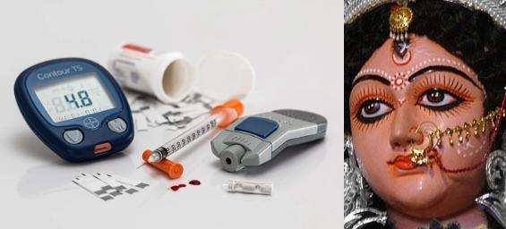Diabetes diseases symptoms treatment cure by yoga pranayama ayurveda herbal medicines jadibuti yogasana naturopathy fasting sugar level postprandial mg/dl madhumeh sharkara prakritik chikitsa